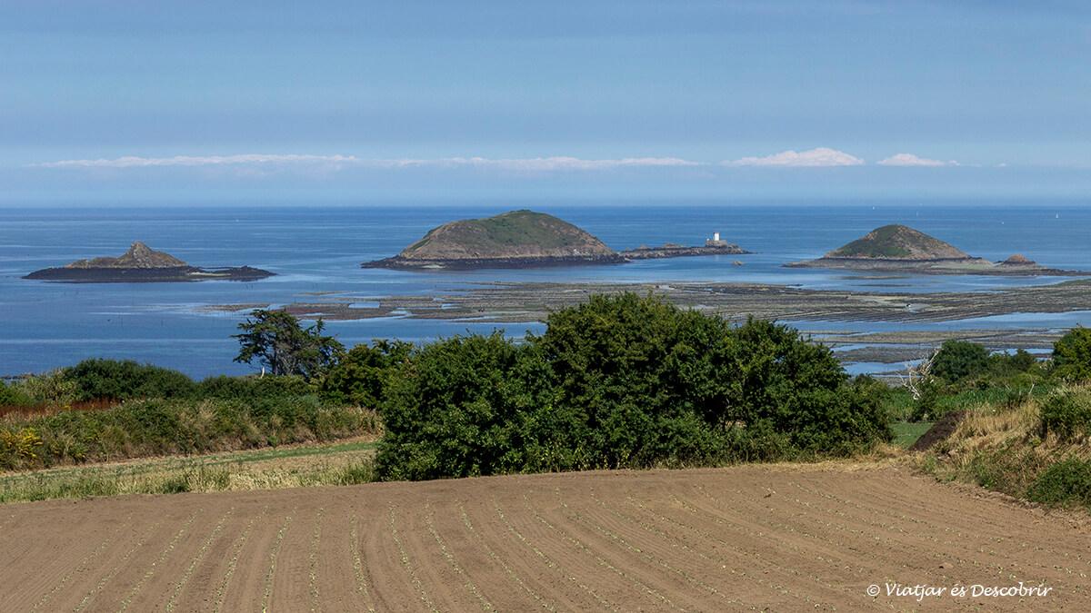 panoramica litoral bretaña francesa