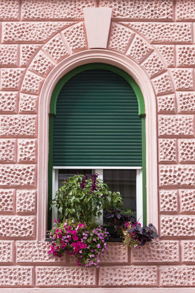 ventana con encanto en la ciudad de Ptuj