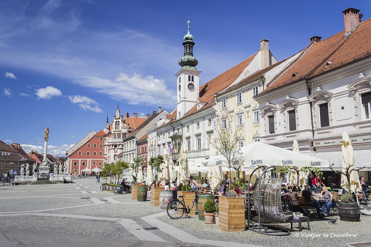 plaza central que ver en Maribor