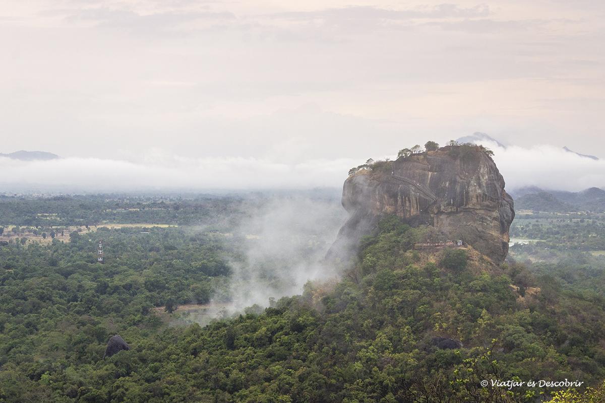 Pidurangala Rock, las mejores vistas de Sigiriya