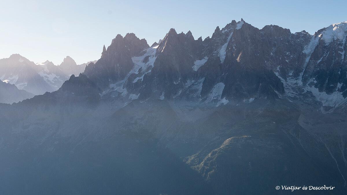 agujas de los alpes franceses