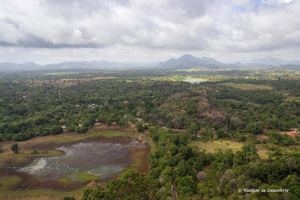 panoramica planicies de sri lanka