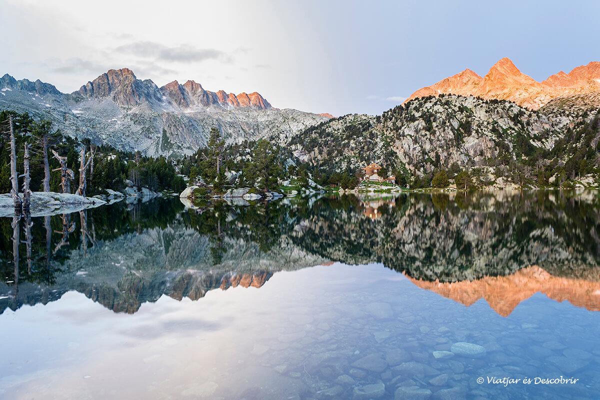 refugio del pirineo en catalunya