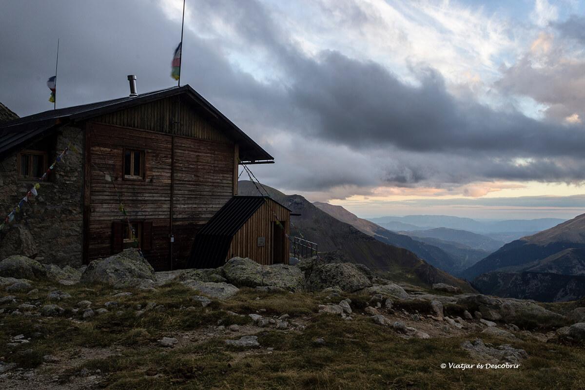 refugio del pirineo