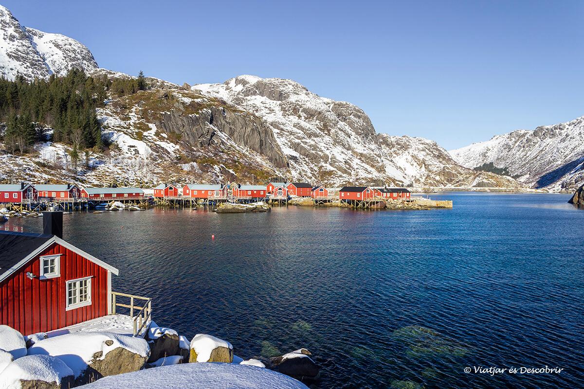 pueblo de Nusfjord