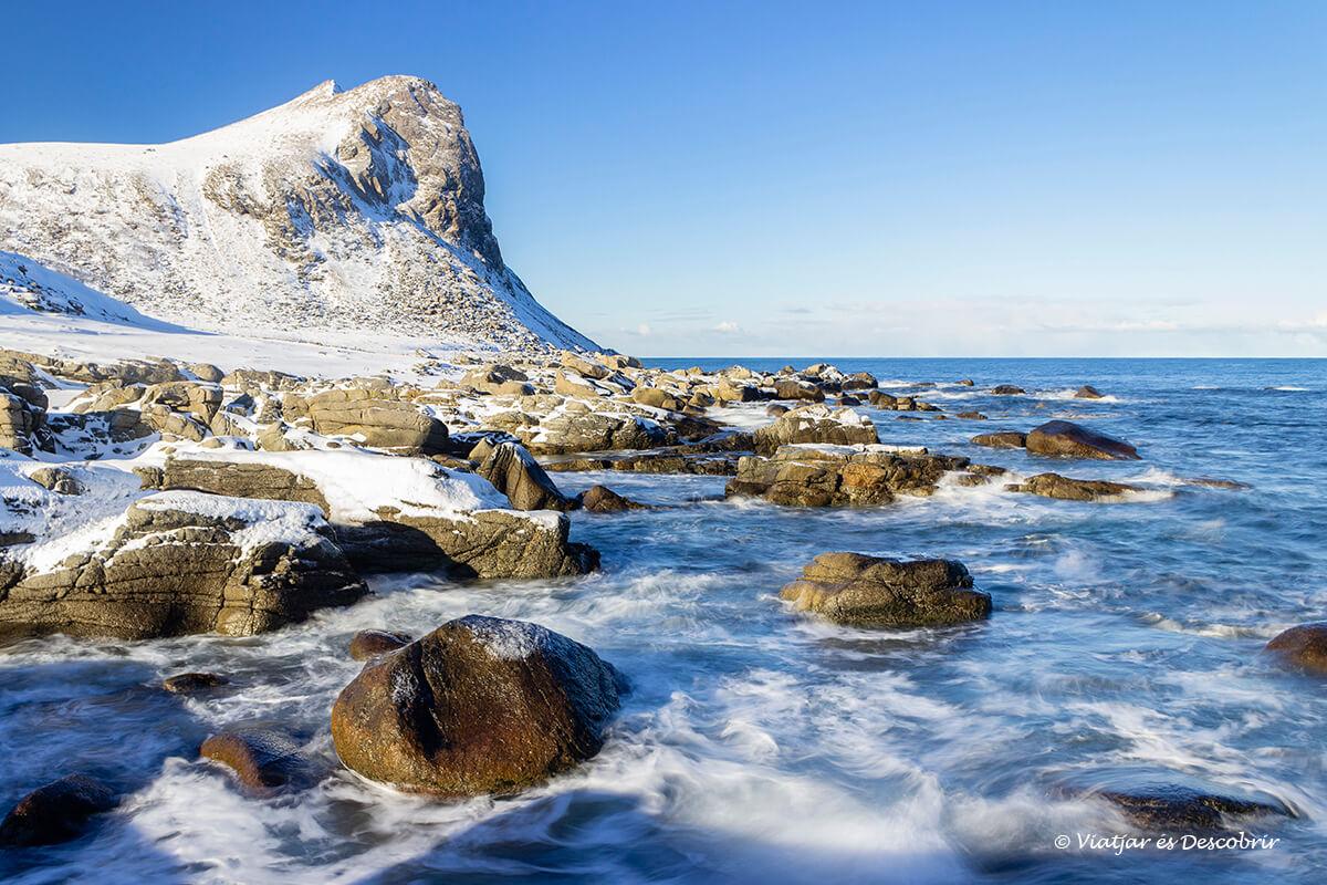 playa Myrland islas Lofoten